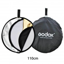GODOX 110cm 5-in-1 Collapsible Round Portable Disc Light Reflector