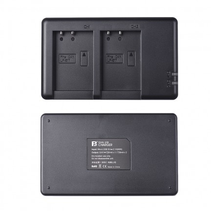FB 950mAh Battery and Charger Set for Canon LP-E17 battery for Canon EOS 77D, 750D, 760D, 8000D, M3, M5, M6