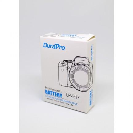DuraPro 2 x 1040mAh LP-E17 Battery + LCD USB Dual Charger for EOS M3 750D 760D 800D