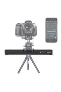 ASHANKS Camera Motorized Slider Timelapse Photograpy 30CM Silent Electronic Control Slide for Micro SLR Gopro Mibile Photo Video