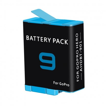 Battery AHDBT-901 Li-ion Rechargeable for GoPro Hero 9 Sports Action Camera