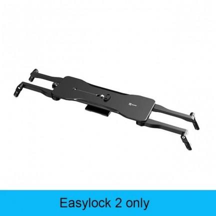 Zeapon Motorized Micro 2 + Easylock 2 Camera Rail Slider Aluminum Alloy Lightweight Portable for DSLR Camera