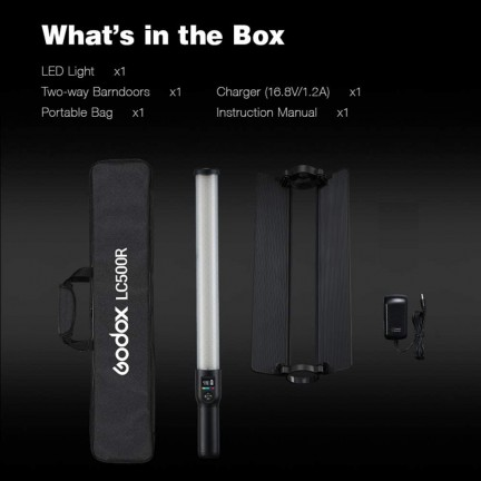Godox LC500R RGB Continuous LED Light Stick