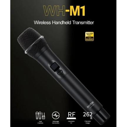 Godox WMicS1 Kit Wireless Lavalier Microphone System and Godox WH-M1 Wireless Handheld Transmitter Microphone