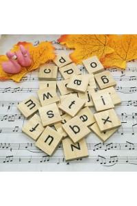 26pcs/lot Wooden English Alphabet Diy Creative Ornaments for Backdrop Photography Accessories