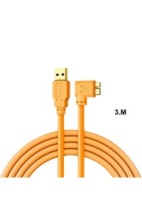 USB3.0 Micro B Cable USB Camera to computer PC Micro-B data cable 3m