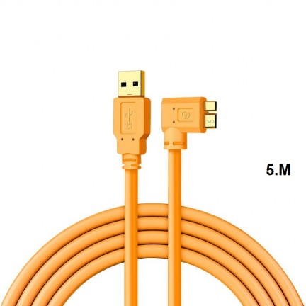 USB3.0 Micro B Cable USB Camera to computer PC Micro-B data cable 5m