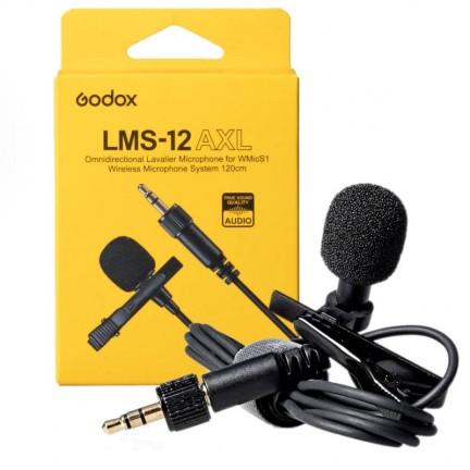 Godox LMS-12 AXL Omnidirectional Lavalier Microphone