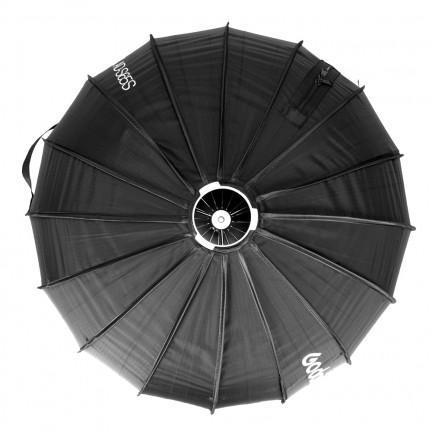 Godox AD-S65S 65cm White or Silver Deep Parabolic Softbox + Honeycomb Grid Godox Mount Softbox for AD400PRO