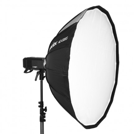 Godox AD-S85S 85cm White or Silver Deep Parabolic Softbox with Honeycomb Grid Godox Mount Softbox for AD400PRO