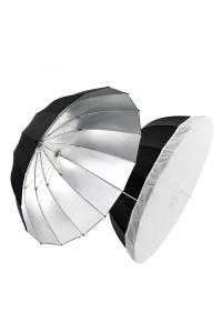 """Godox UB-130W Silver Parabolic Umbrella 130CM (51"""") with diffuser"""