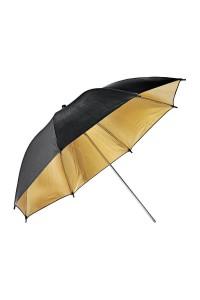 Photo Studio Umbrella UB-003, Black and Gold 33 (84cm) Inches