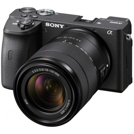 Sony Alpha A6600 Mirrorless Camera with E 18-135mm F3.5-5.6 OSS Lens