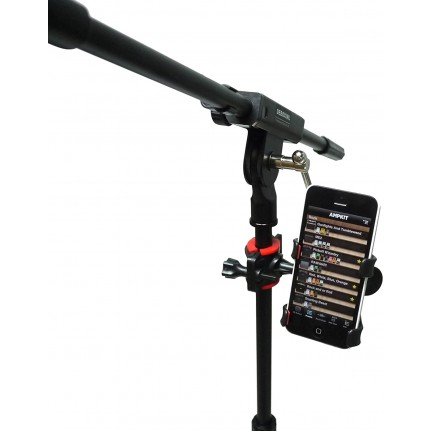 Universal Music Sheet Stand Microphone Mic Stand Phone Holder