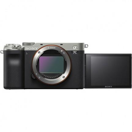 Sony Alpha a7C Mirrorless Digital Camera (Body Only, Silver)