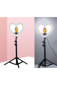 Heart-shaped Selfie Ring Light