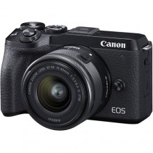 Canon EOS M6 II with 15-45mm IS STM Lens Kit