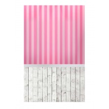 Wood Floor Photography Backdrop Pink Wall Background For Studio