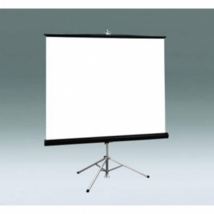 Caspi Pros T180 Tripod Projector Screen 180cmx180cm