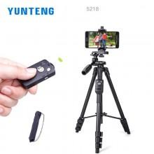 Yunteng 5218 Camera Tripod Self-portrait Monopod Tripod