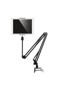 Tablet Stand Adjustable Microphone Suspension Boom Scissor Arm Stand