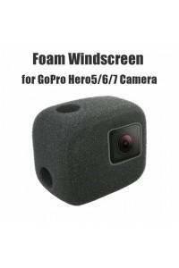 PULUZ Sponge Foam Windshield Housing Case Cover for GoPro Hero 7 6 5  Black