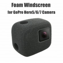 PULUZ Sponge Foam Windshield Housing Case Cover for GoPro Hero 7 6 5  Black