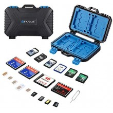 PULUZ 27 in 1 Memory Card & Sim Card Storage Case