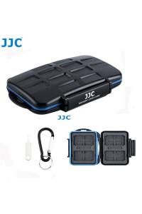 JJC 28 Slots Memory Card Case Holder Storage