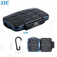 JJC 28 Slots Memory Card Case Holder Storage