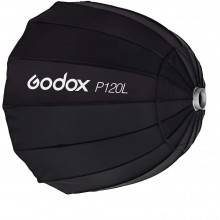 Godox P120L 120CM Deep Parabolic Bowens Mount Portable Softbox