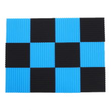 Black&Blue Soundproofing Acoustic Foam 1inch X 12 X 12 inch
