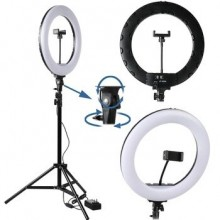 A380 Selfie LED Ring Fill Light 14inch with Tripod Stand