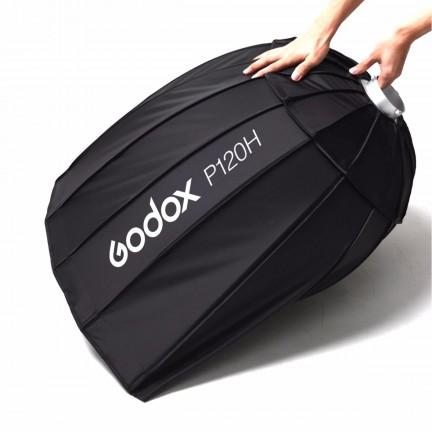 "Godox 120cm / 47.2"" Parabolic Round Softbox Light P120H"