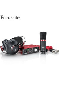Focusrite Scarlett Solo Studio Pack - Interface - Headphones - Mic