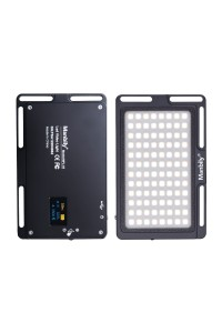 (Black) Manbily MFL-03 Dimmable Thin Mini LED Photographic Lighting Lamp Video Camera Light