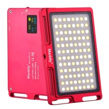 Manbily MFL-03 Dimmable Thin Mini LED Photographic Lighting Lamp Video Camera Light (Red)