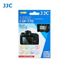 JJC For CANON EOS 77D Ultra-thin LCD Screen Protector Camera Display Cover