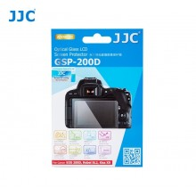 JJC For CANON EOS 200D Ultra-thin LCD Screen Protector Camera Display Cover