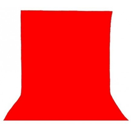 Visico Red Background 3x3m