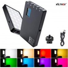 VILTROX Weeylife RB08P RGB 2500K-8500K Mini Pocket Video Light LED Light