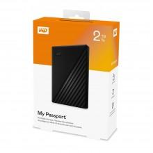 Western Digital WD 2TB My Passport Portable External Hard Drive Black