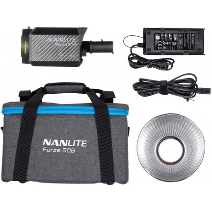 Nanlite Forza 60B Bi-Color LED Monolight Spot Light