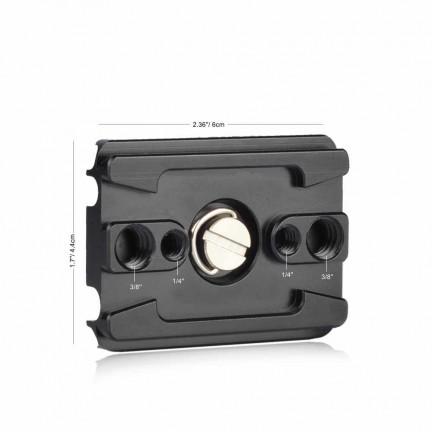 QR Quick Release Plate Camera Digital USB Cabal Klem Locker Clip