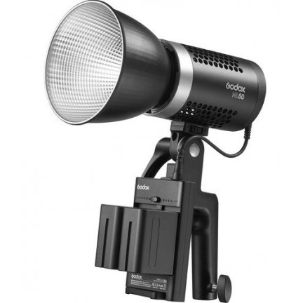 Godox ML60, 60W Handheld LED Video Light and 2 NP970  Battery