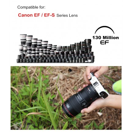 Viltrox EF-EOSM Electronic Auto Focus Lens Adapter