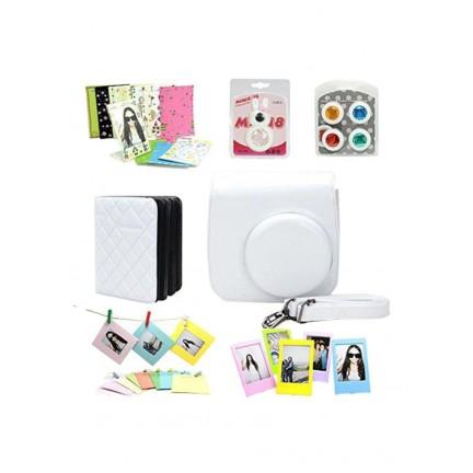 Instax Mini8 Camera accessories kit White