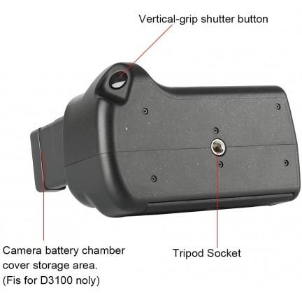 Meike MK-D3200 Battery Grip for Nikon D3100/3200