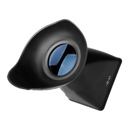 """V1 LCD Viewfinder 2.8x 3"""" Magnifier Eyecup Hood for canon 5DII/7D/500D"""