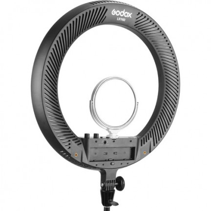 Godox LR160 Bi-Color Ringlight (Black)